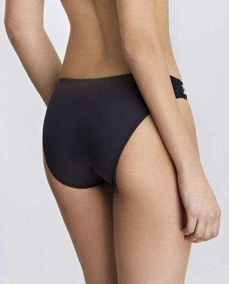 Bandeau bikini top with...