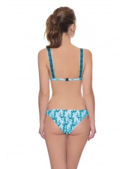 Scoop swimsuit with cup